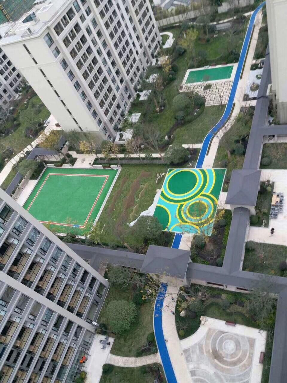绿城-乌镇雅园室外塑胶场地完工