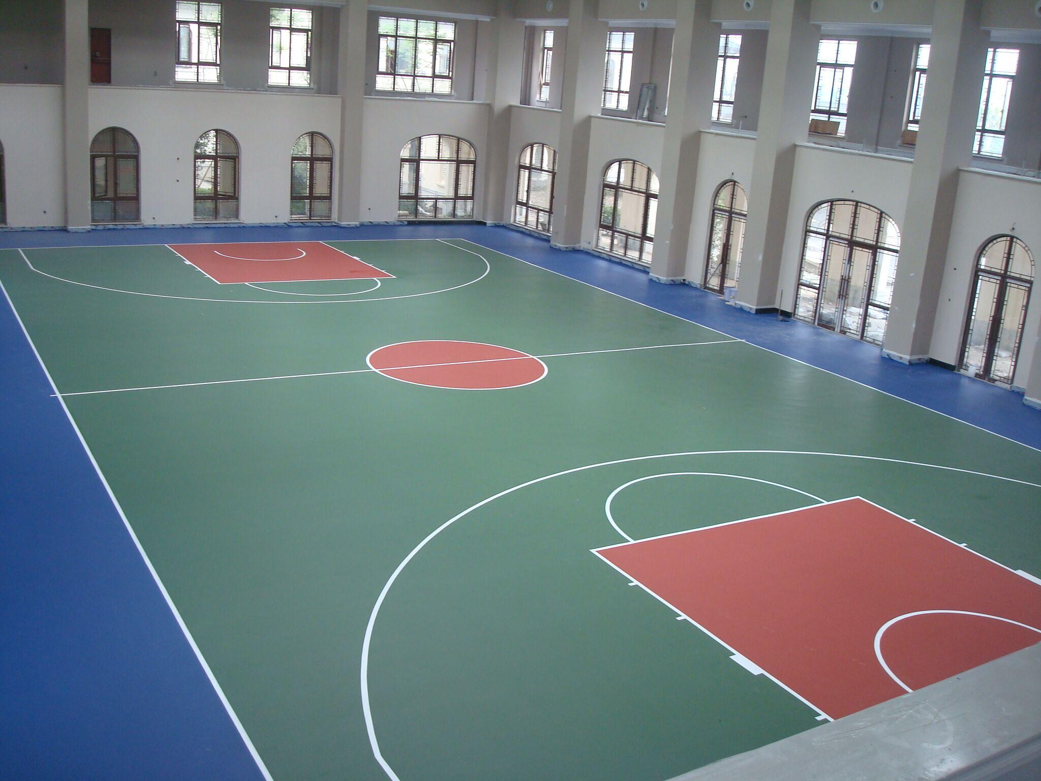 乌镇雅园室内篮球场