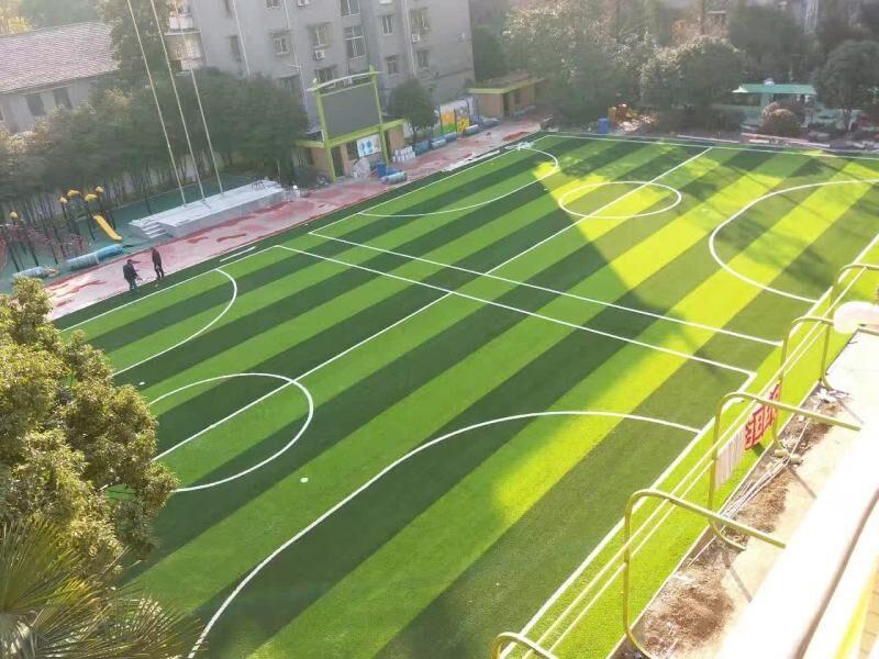 杭州行知小学足球场及预制型跑道