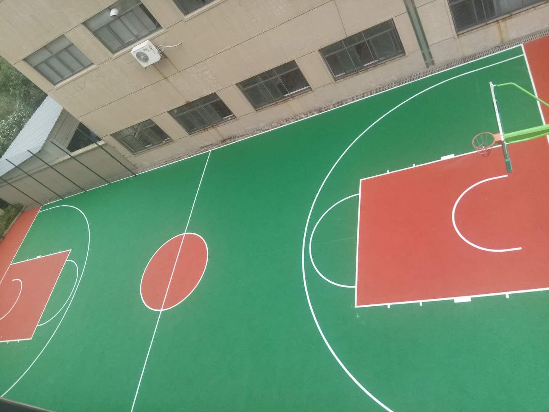 杭州兴源科技有限公司篮球场完工