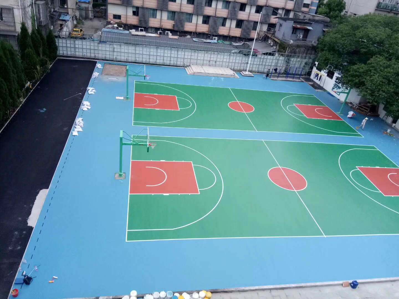 杭州永天实验小学水性球场