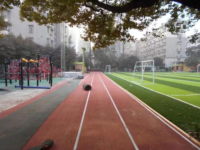 杭州行知小学塑胶跑道